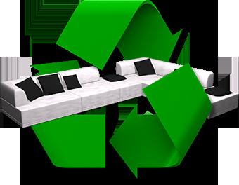 Recyclez votre ancien canapé